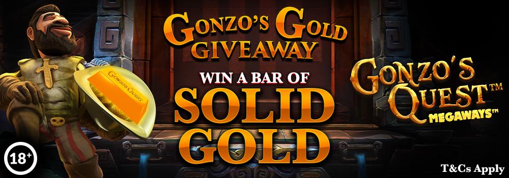 gonzos gold promo
