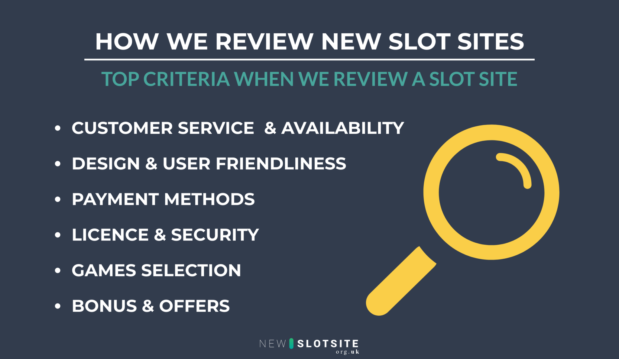 how we review new slot sites in the uk