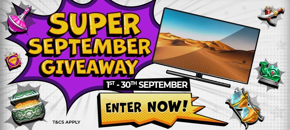 super september giveaway